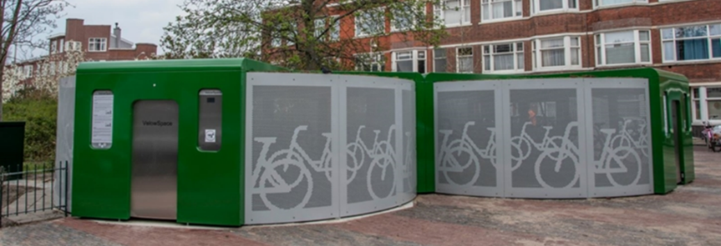 Bicycle Carousel Contributes to Bicycle Use in The Hague