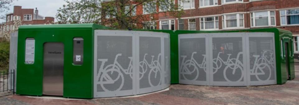 Fietscarrousel draagt bij aan fietsgebruik in Den Haag
