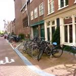 fietsparkeren amsterdam straat