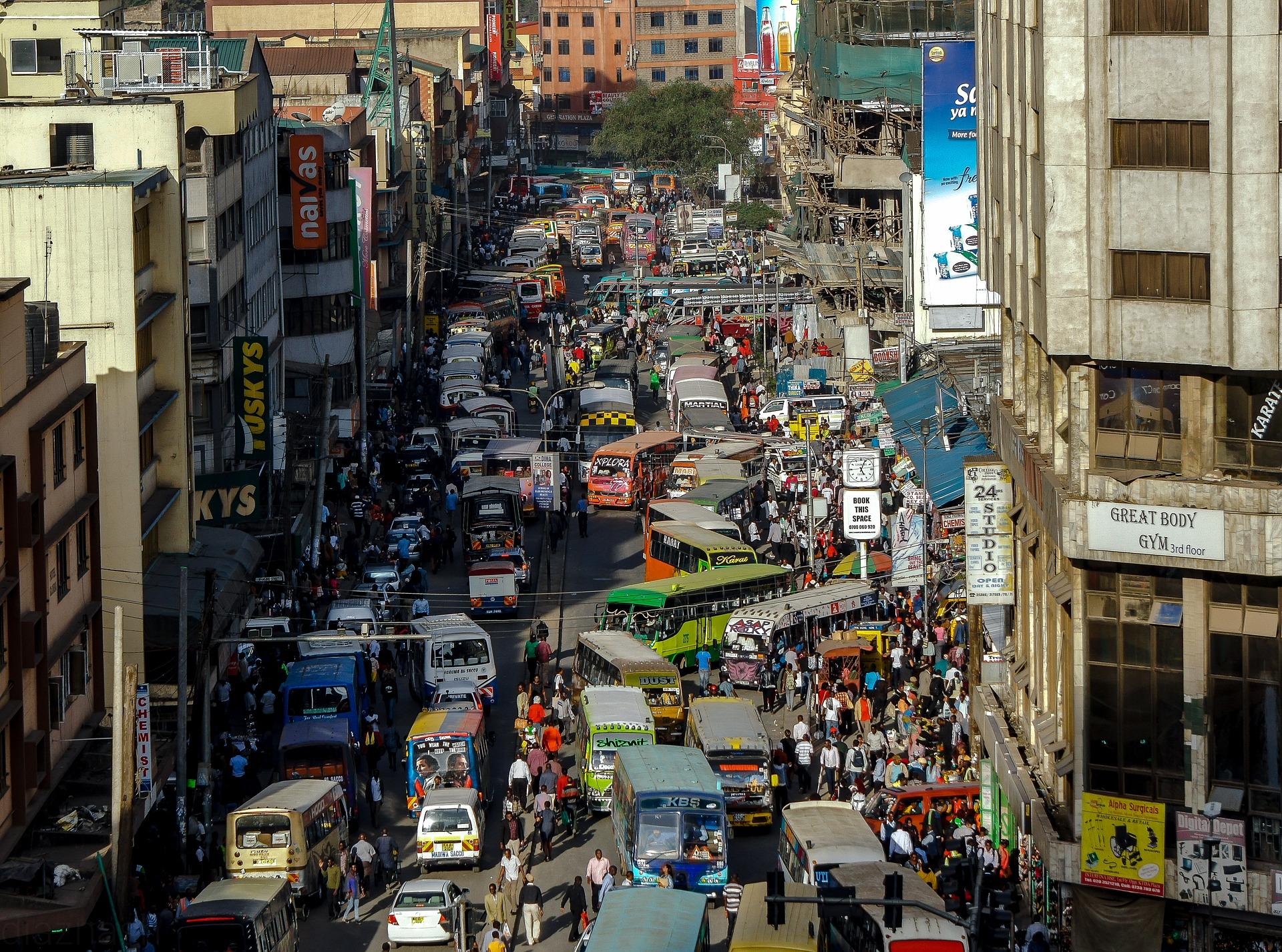 Un'analisi del trasporto pubblico nelle città africane grazie agli open data GTFS
